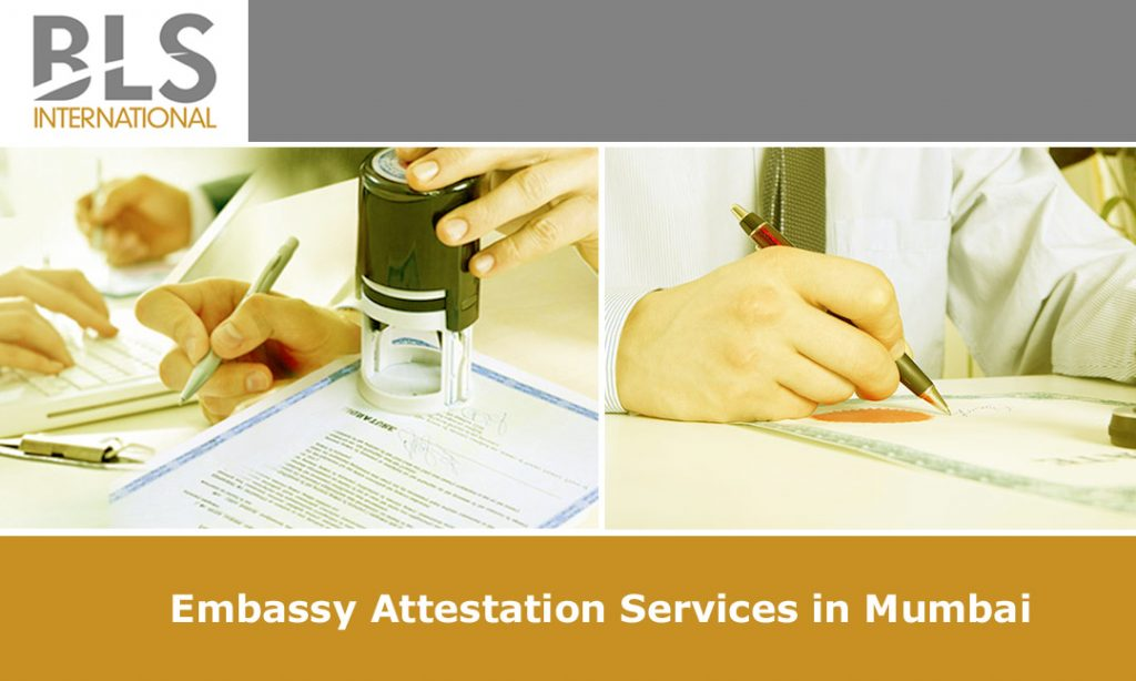 Embassy attestation services in mumbai maharashtra bls for Consul external service
