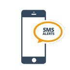 SMS status alerts